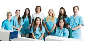 Praxisteam der Orthopädie Neuhausen